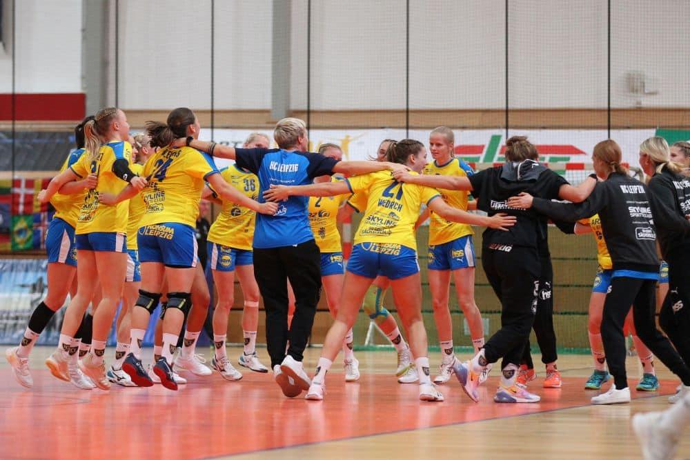 Nach einer Niederlage und einem Remis, durften die HCL-Frauen endlich den ersten Heimsieg der Saison bejubeln. Foto: Jan Kaefer