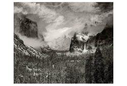 Hubert Becker: Clearing Winter Storm (nach Ansel Adams), 2011, Inkjetprint, 69 x 84 cm. Quelle: Galerie b2