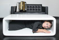 Carmela de Feo eröffnet die 30. Lachmesse 2020 Foto: Harald Hoffmann