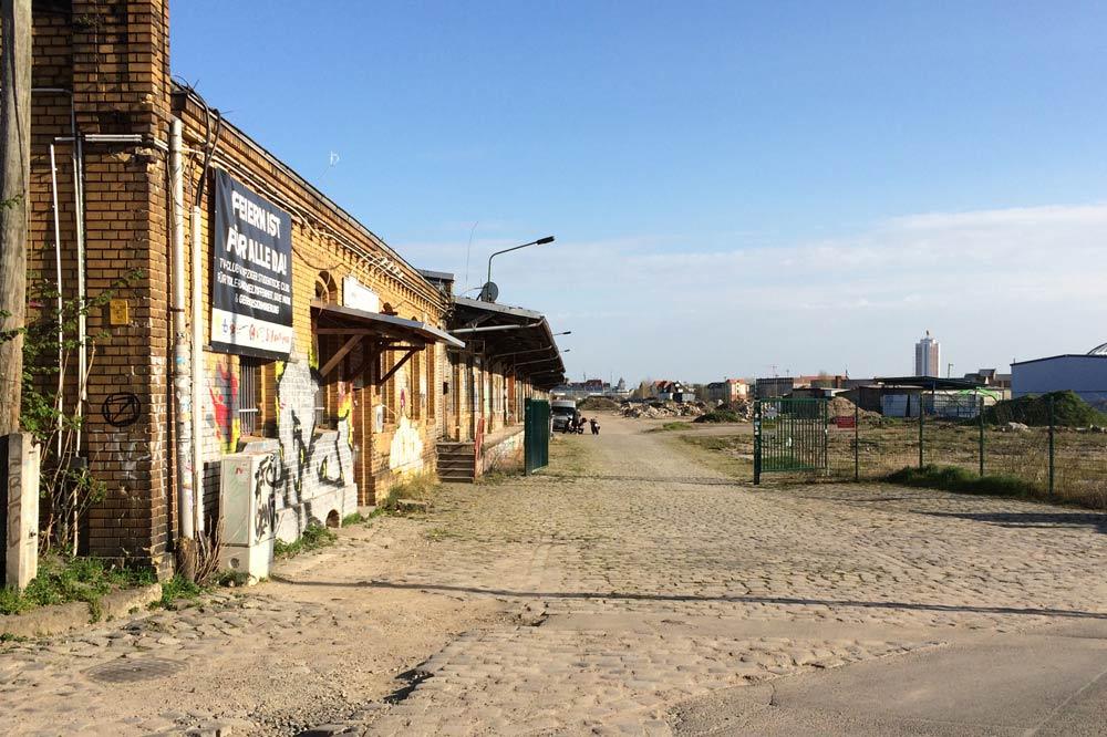 Gelände des Eutritzscher Freiladebahnhofs. Foto: L-IZ