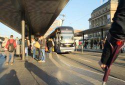 LVB-Haltestelle Hauptbahnhof. Archivfoto: Ralf Julke