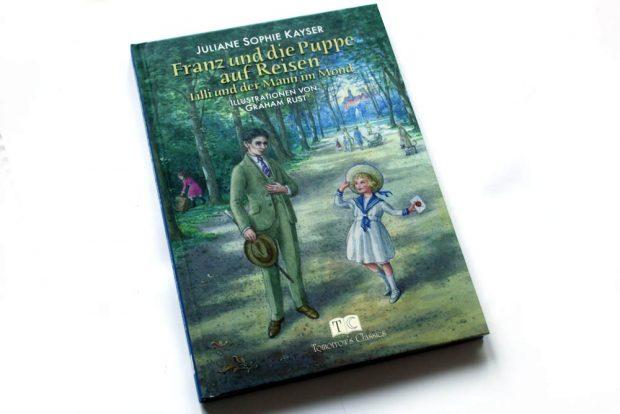 Juliane Sophie Kayser: Franz und die Puppe auf Reisen. Foto: Ralf Julke