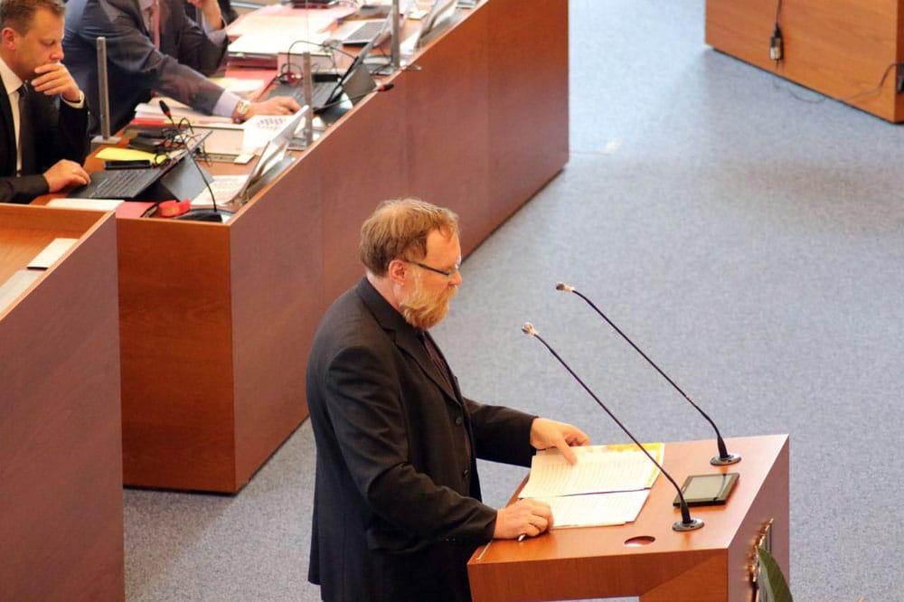 Volker Külow (Linke). Foto: L-IZ.de