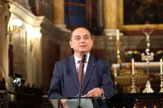 Basil Kerski (Redner zur Demokratie 2020). Foto: L-IZ.de
