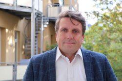 """Lutz Mükke, Mitinitiator und Vorstand der Initiative """"Leipzig bleibt friedlich!"""". Foto: Privat"""