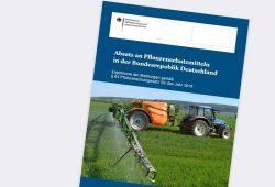 """Bericht """"Absatz an Pflanzenschutzmitteln in der Bundesrepublik Deutschland"""". Cover: Bundesamt für Verbraucherschutz und Lebensmittelsicherheit (BVL)"""