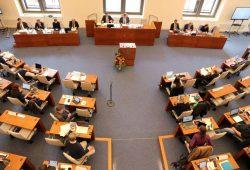 Ratsversammlung im Neuen Ratssaal. Foto: L-IZ.de