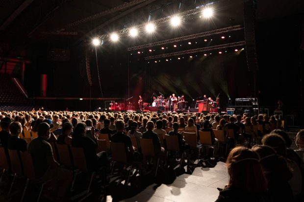 Konzert mit Tim Bendzko am 22. August in der Quarterback Immobilien Arena Leipzig. Foto: SC DHfK Handball