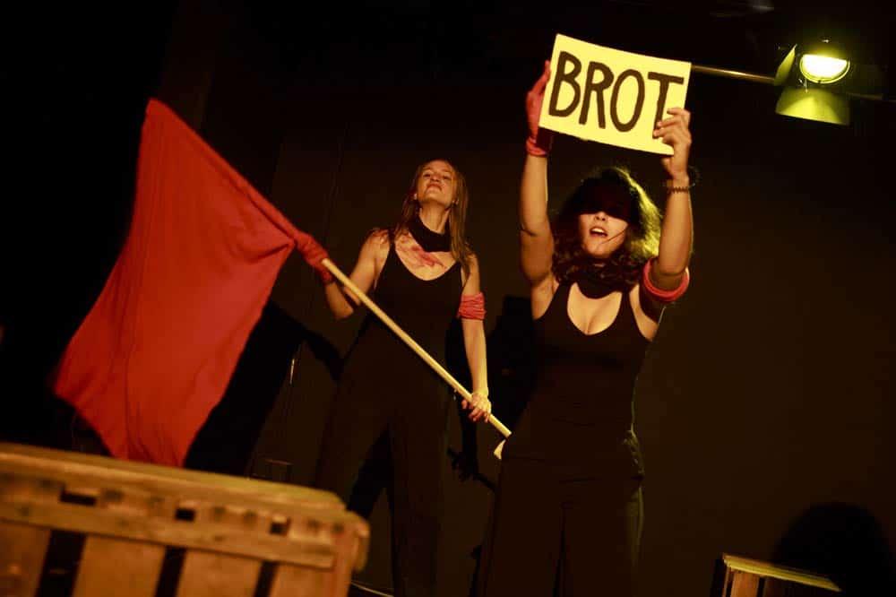 Die vergessene Revolution. Foto: nö theater