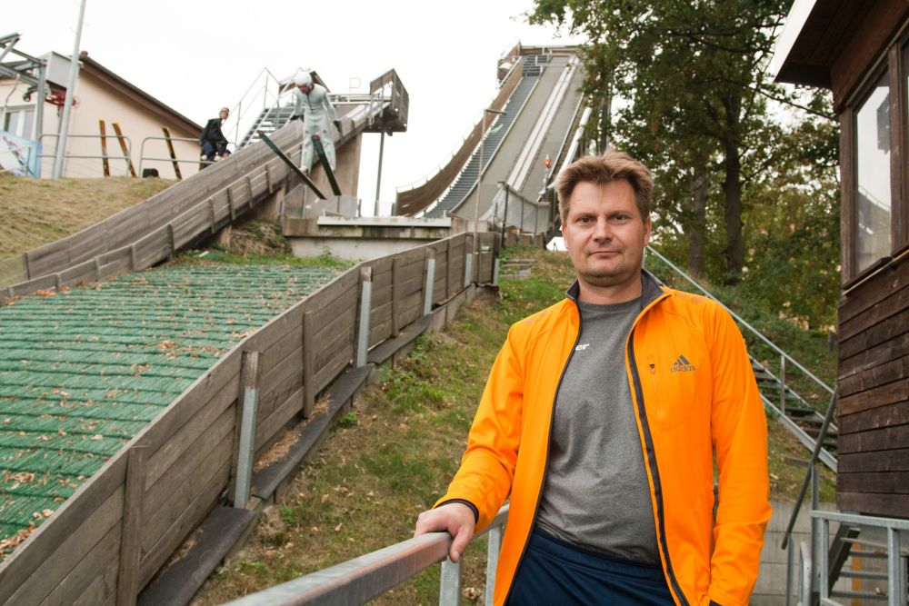 Stephan Kupke ist Trainer der Ski-Abteilung des SV Lokomotive Eilenburg und seit 2007 Vereinsvorsitzender. Foto: Michael Billig