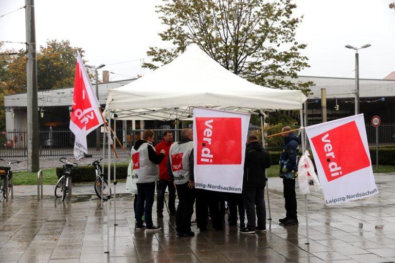 Auch für Mittwoch, den 21.Oktober, ruft die Gewerkschaft ver.di zu Warnstreiks im öffentlichen Dienst auf. Foto:L-IZ