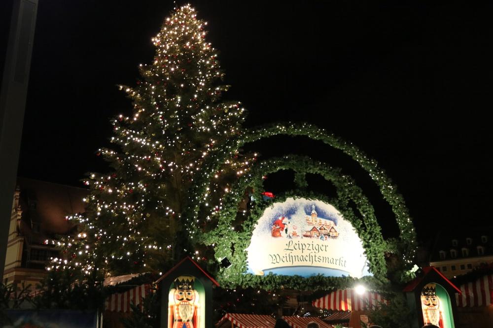 Der Leipziger Weihnachtsmarkt wird in diesem Jahr etwas anders aussehen. Archivfoto: L-IZ.de