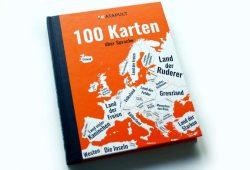 100 Karten über Sprachen. Foto: Ralf Julke