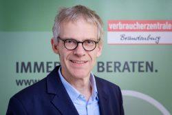 Dr. Christian A. Rumpke, Chef der Verbraucherzentrale Brandenburg. © André Wagenzik / VZB