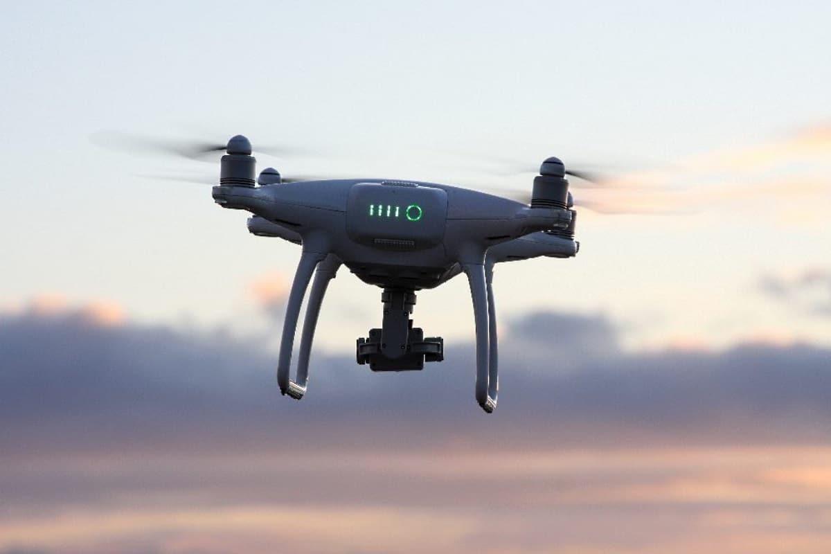 Drohne mit Kamera. Foto: LZ