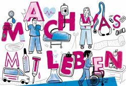Am 14. und 21. November findet der JobPoint.AZUBI am UKL statt - dieses Mal digital. Grafik: UKL
