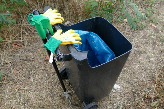 Auf zum Abfall sammeln. Quelle: Stadtreinigung Leipzig