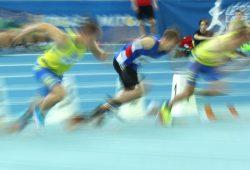 Die Schließung der Schulsporthallen stellt auch die Leichtathleten vor Probleme. Foto: Jan Kaefer
