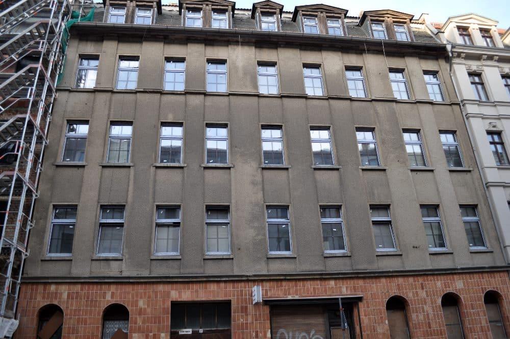 Mierendorffstraße 41, evtl Teilbewohnt. Foto: Privat