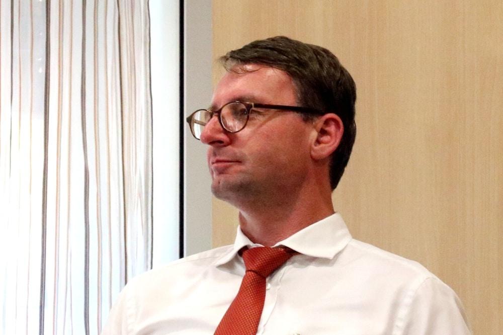Nicht im Leipziger Stadtrat, aber doch in aller Munde: Sachsens Innenminister Dr. Roland Wöller (CDU). Foto: LZ