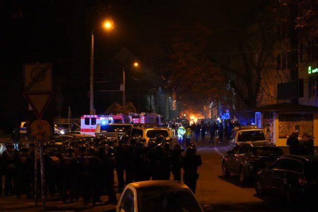 Wolfgang-Heinze-Straße 22:15 Uhr. Foto: L-IZ.de