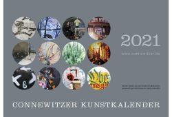 Connewitzer Kunstkalender 2021. Cover: Carrin Bierbaum