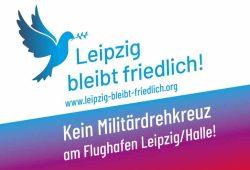 Leipzig bleibt friedlich! Grafik: Leipzig bleibt friedlich!