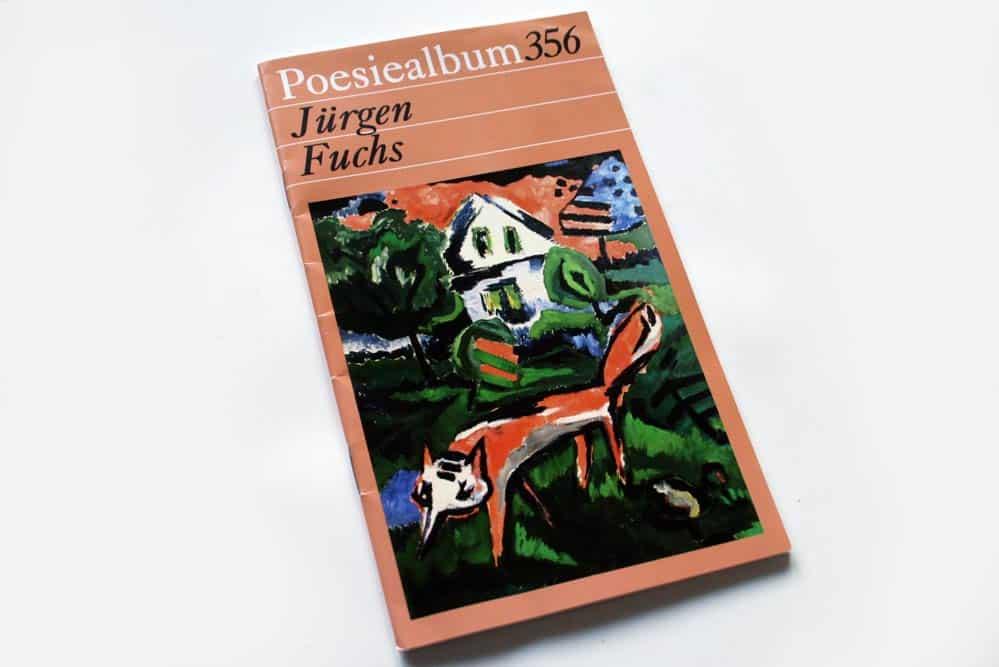 Poesiealbum 356: Jürgen Fuchs. Foto: Ralf Julke