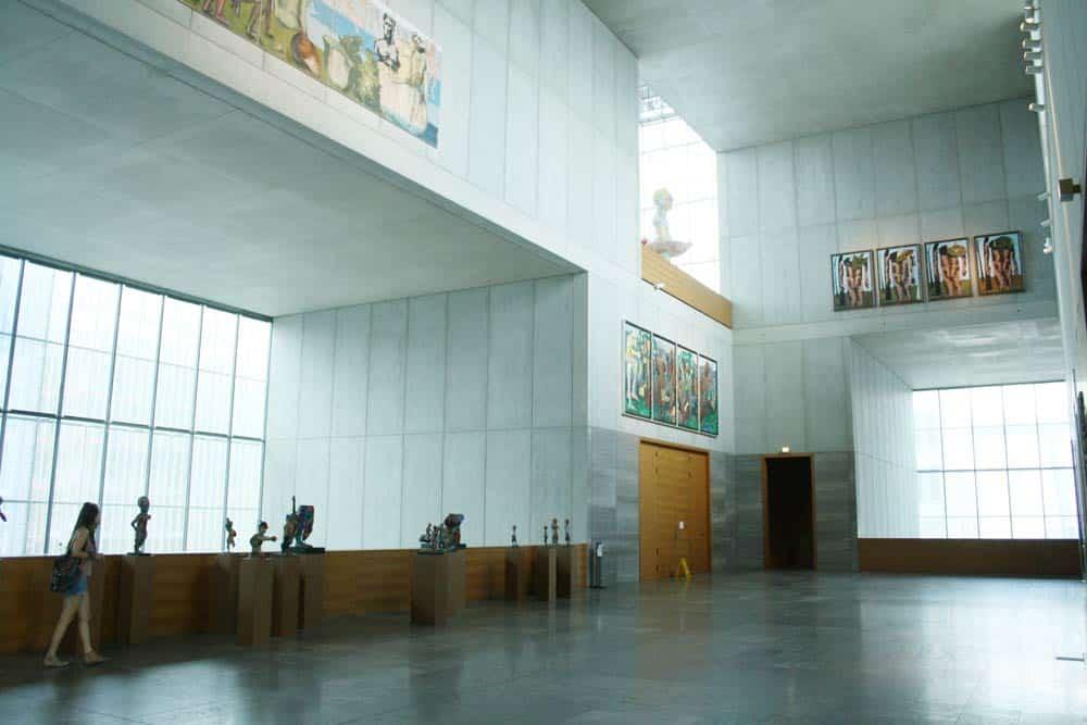 Im Museum der bildenden Künste. Foto: Ralf Julke