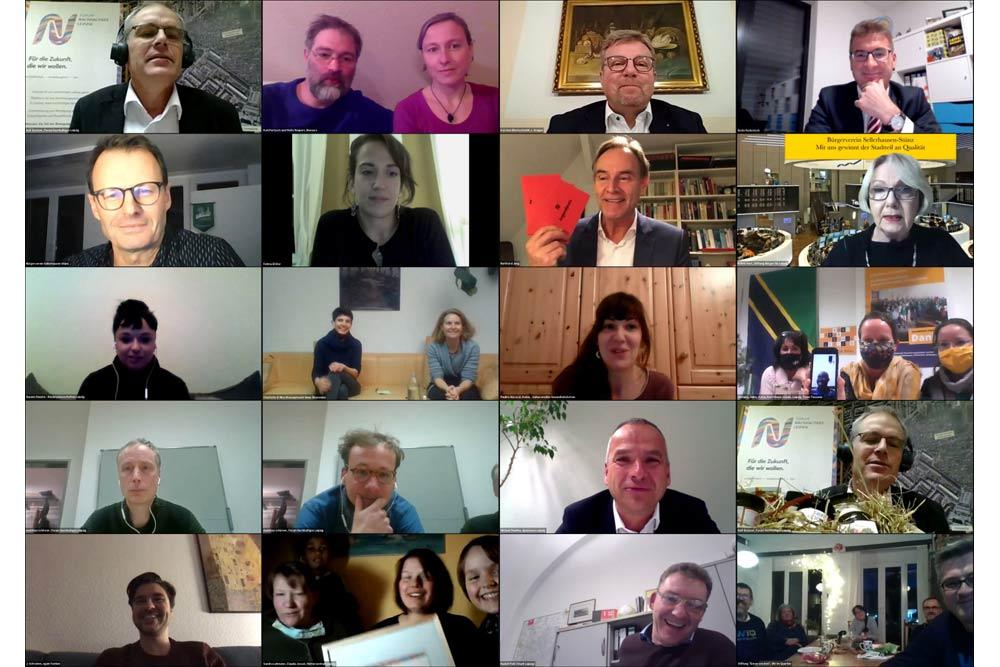 Videokonferenz vom 20. November. Foto: Forum Nachhaltiges Leipzig