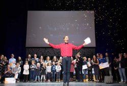 Preisverleihung zur VISIONALE 2019. Foto: Medienpädagogik e.V., Projektbüro VISIONALE