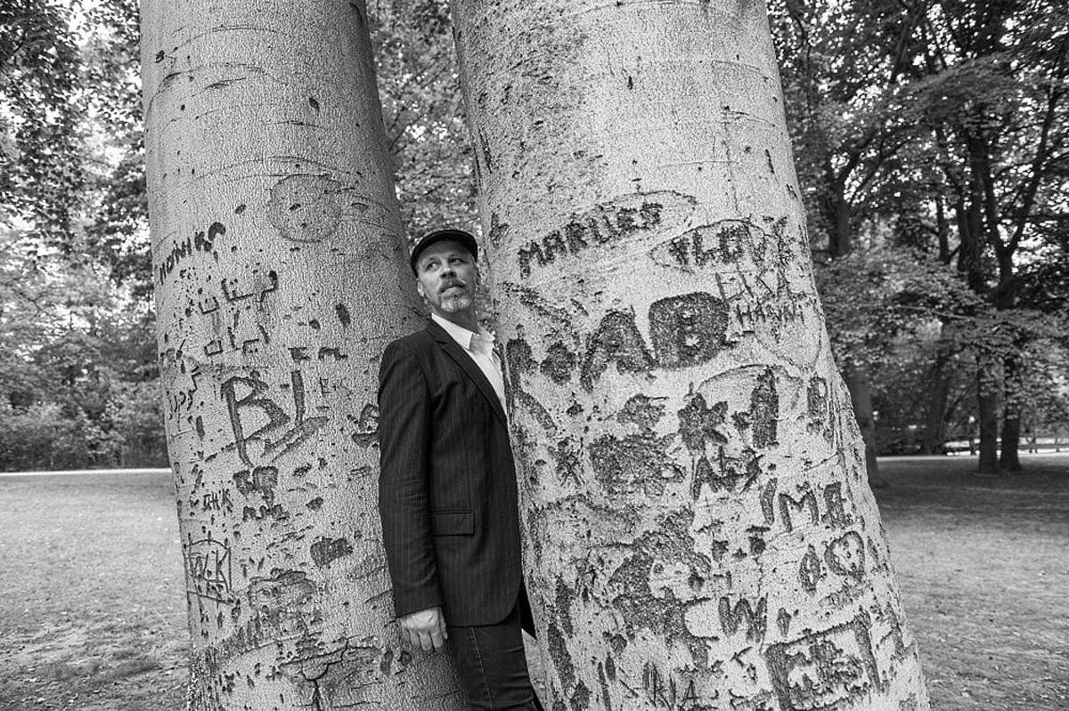Autor, Leipziger und Kolumnist David Gray. © Erik Weiss