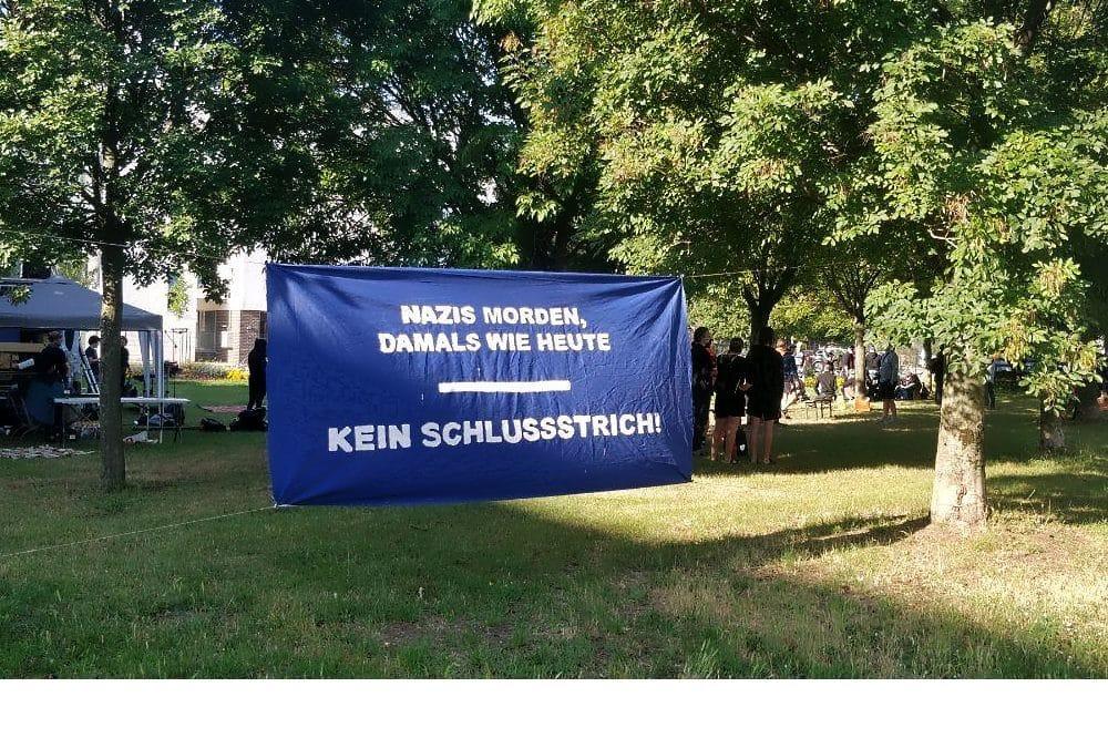 """Quelle: Bündnis Kundgebung """"Solidarität mit den Betroffenen- keine Bühne dem Täter"""""""