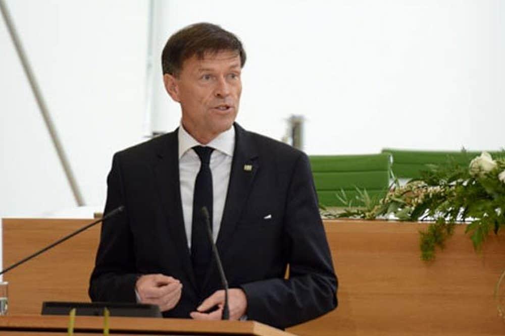 Landtagspräsident Matthias Rößler. Foto: Steffen Giersch