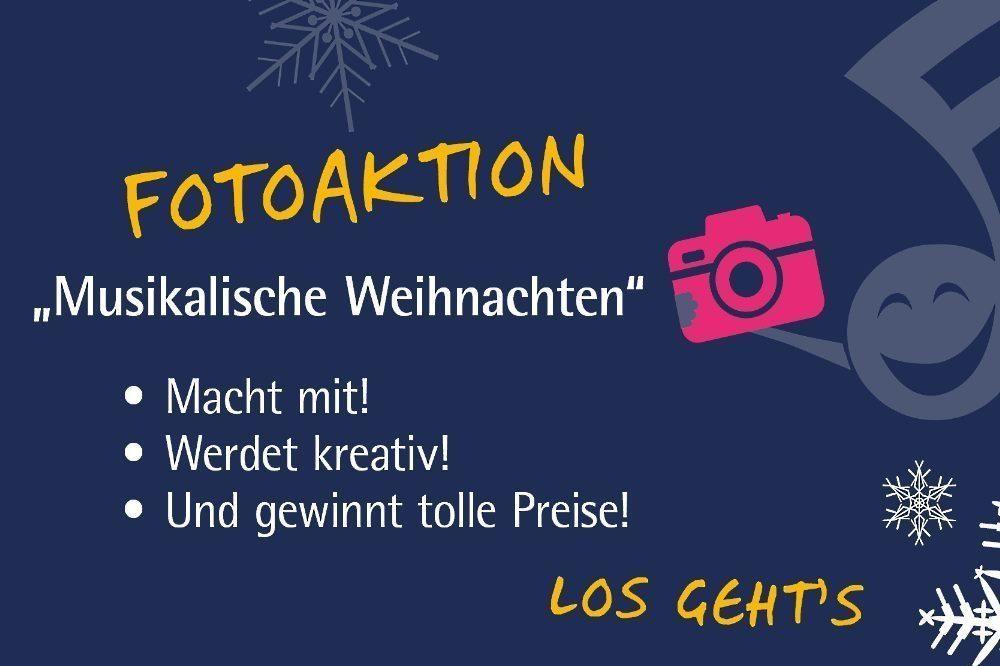 """Fotoaktion Musikalische Weihnachten. Quelle: Musikschule Leipzig """"Johann Sebastian Bach"""""""