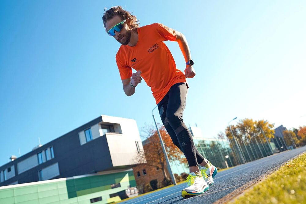 Marcus Schöfisch hatte sich über ein halbes Jahr lang auf seinen Rekordversuch vorbereitet. Foto: Lauftraining.com
