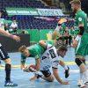 Die Handballer des SC DHfK stolperten im letzten Spiel des Jahres über Spitzenreiter Flensburg-Handewitt. Foto: Jan Kaefer