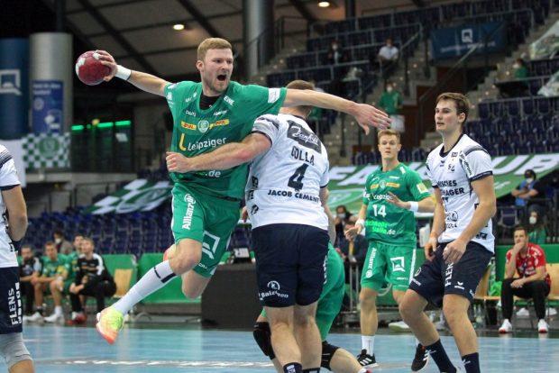 Philipp Weber entschlossen gegen Johannes Golla. Foto: Jan Kaefer