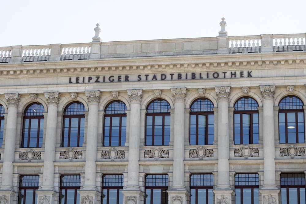 Leipziger Stadtbibliothek ist ab 14. Dezember ebenfalls von Schließung betroffen. Foto: Martin Schöler