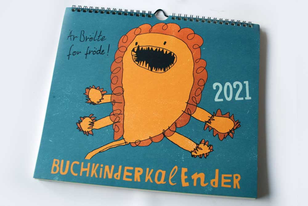 Buchkinderkalender 2021. Foto: Ralf Julke