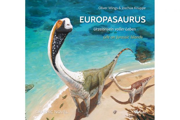 """Oliver Wings & Joschua Knüppe """"Europasaurus - Urzeitinseln voller Leben. Foto: Joschua Knüppe"""