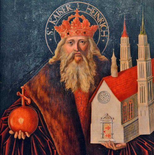 Kaiser Heinrich II. Foto: Vereinigte Domstifter / F. Matte