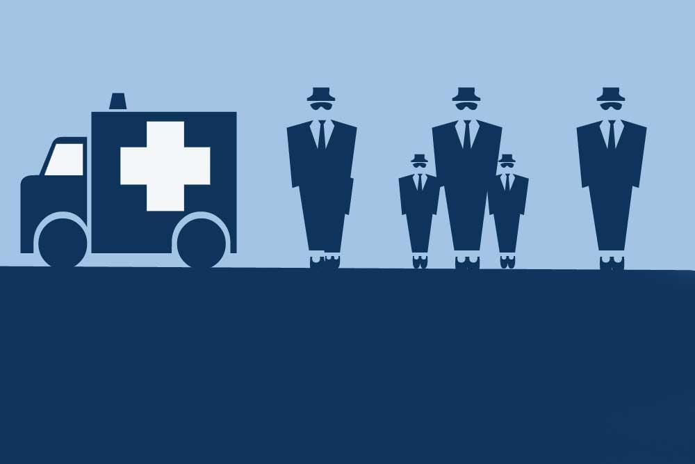 Wenn Impfen zum Politikum wird. Grafik: L-IZ