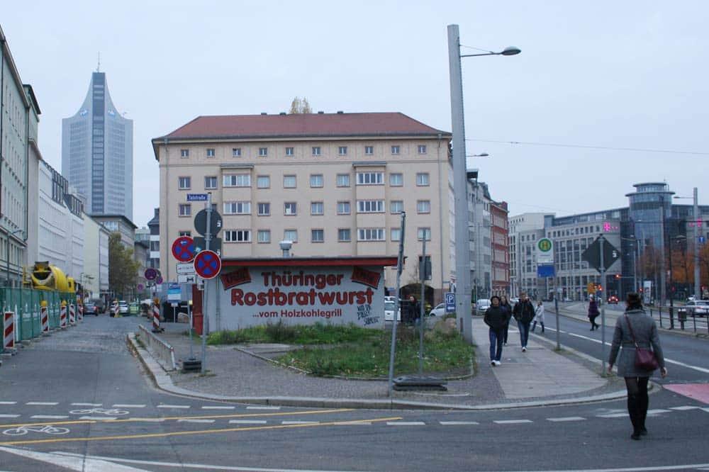 Der kleine Platz zwischen Johannisgasse und Prager Straße. Foto: Ralf Julke