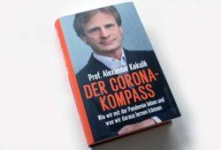 Prof. Alexander Kekulé: Der Corona-Kompass. Foto: Ralf Julke