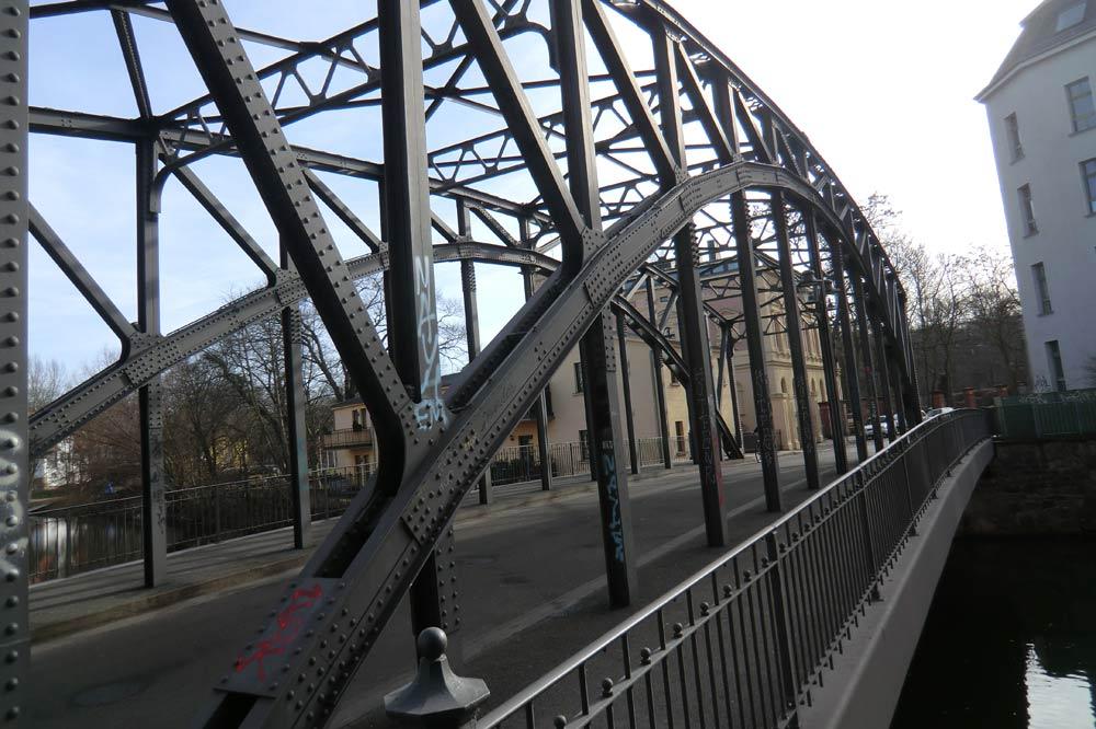 Die Könneritzbrücke. Foto: Marko Hofmann