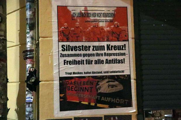 Anfang Dezember 2020 hatte es noch Mobilisierungen zum Kreuz gegeben, später kaum noch. Foto: L-IZ.de