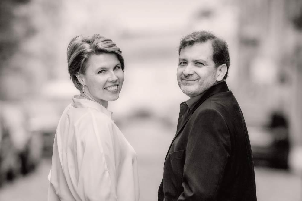 Anna-Maria Maak und Sef Albertz. Foto: Florentyn Music