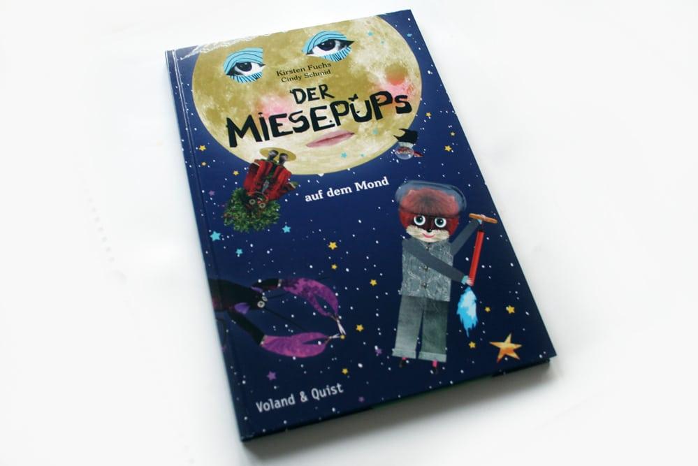 Kirsten Fuchs, Cindy Schmidt: Der Miesepups auf dem Mond. Foto: Ralf Julke