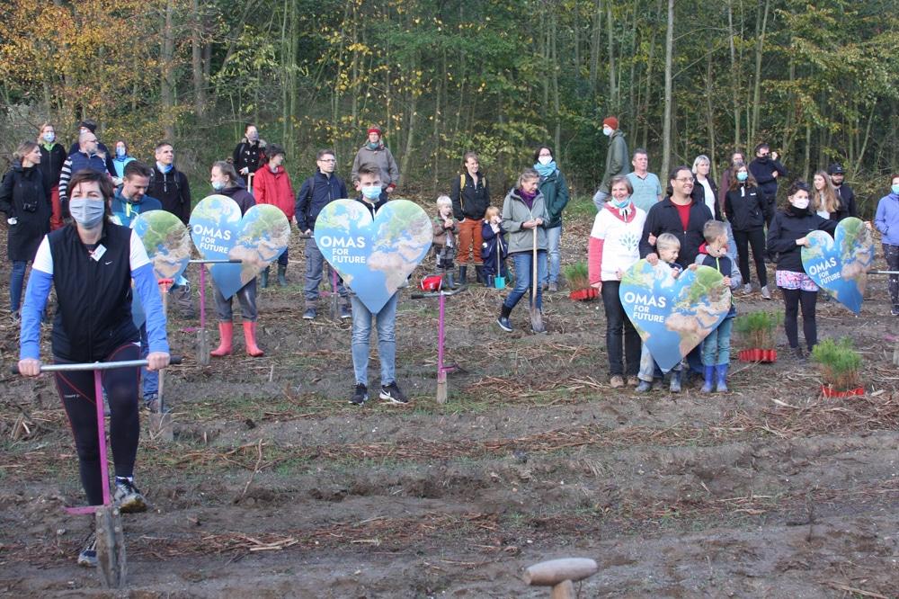 """Pflanzaktion von """"LEIPZIG pflanzt"""" am 24. Oktober. Foto: LZ"""
